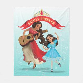 Elena & Isabel | Sister Time Fleece Blanket