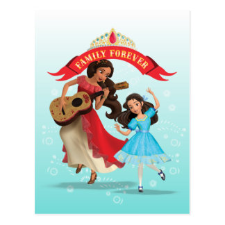 Elena & Isabel | Sister Time Postcard