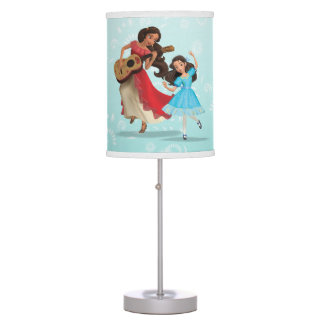 Elena & Isabel | Sister Time Table Lamp