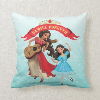 Elena & Isabel   Sister Time Throw Pillow
