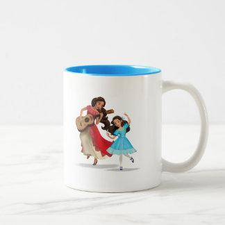 Elena & Isabel | Sister Time Two-Tone Coffee Mug