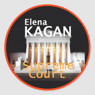 Elena Kagan Justice Sticker
