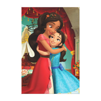 Elena | Little Sister. Big Sister. Canvas Print