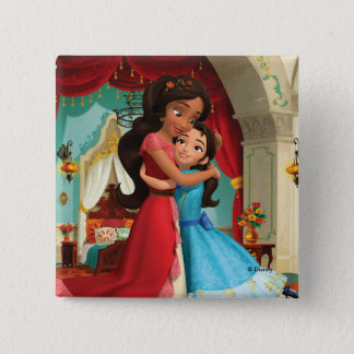 Elena | Little Sister. Big Sister. Pinback Button
