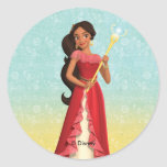 Elena | Magic is Within You Classic Round Sticker