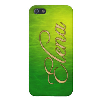 ELENA Name Branded iPhone Cover