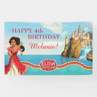 Elena of Avalor Birthday Banner