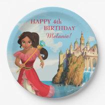 Elena of Avalor | Birthday Paper Plate