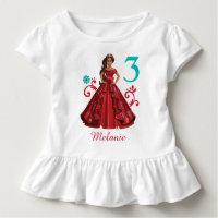 Elena of Avalor   Birthday Toddler T-shirt