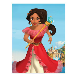Elena | Protector of the Kingdom Postcard