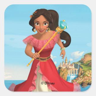 Elena   Protector of the Kingdom Square Sticker