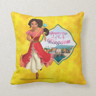 Elena | Protector of the Kingdom Throw Pillow