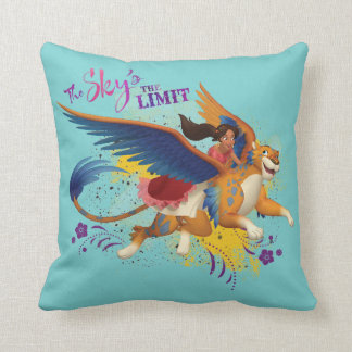 Elena | The Sky's the Limit Throw Pillow