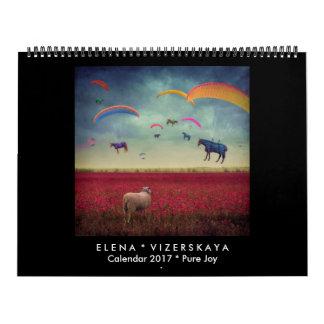 Elena Vizerskaya Art Calendar 2017 PURE JOY