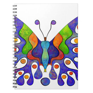 Elenissina - colourful butterfly notebook