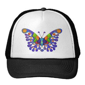 Elenissina - colourful butterfly trucker hat