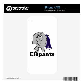 Elepants iPhone 4S Decals