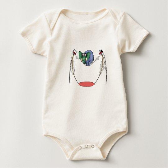 Elephant32 Baby Bodysuit