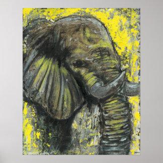 Elephant580 Poster