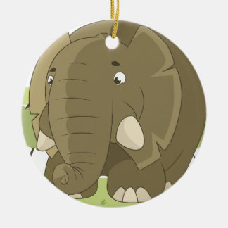 elephant-1598359 ceramic ornament