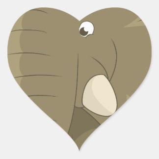 elephant-1598359 heart sticker