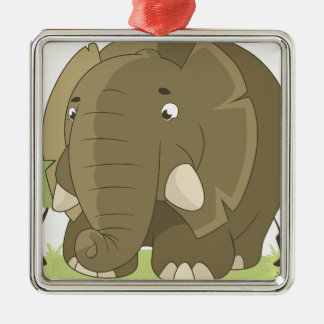 elephant-1598359 metal ornament