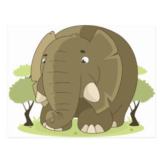 elephant-1598359 postcard