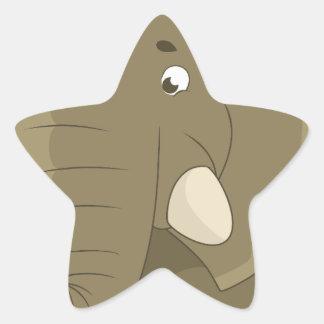 elephant-1598359 star sticker