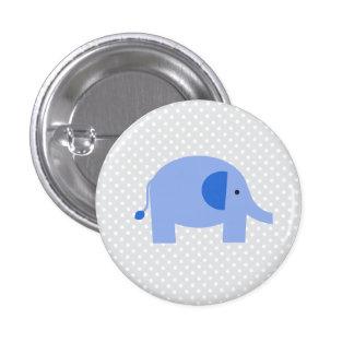 Elephant 1 Inch Round Button
