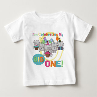 Elephant 1st Birthday T shirts and Gifts