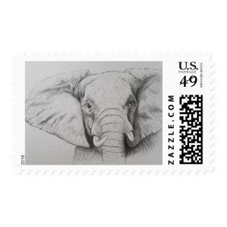 Elephant 2011 stamp