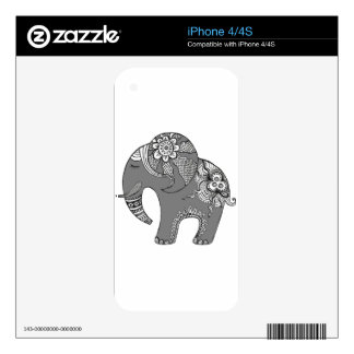 Elephant 4 decal for the iPhone 4