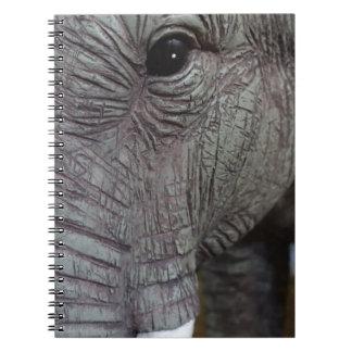 elephant-543256 Grey elephant photography close-up Notebook