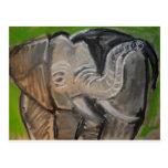 elephant#7 postcard