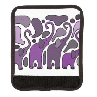 Elephant Abstract Luggage Wrap Luggage Handle Wrap