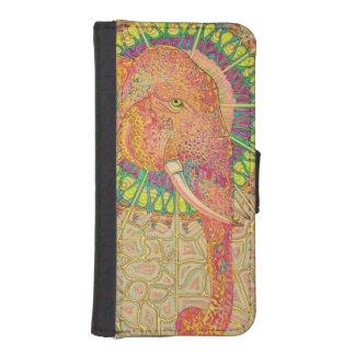 elephant africa wild iPhone SE/5/5s wallet case