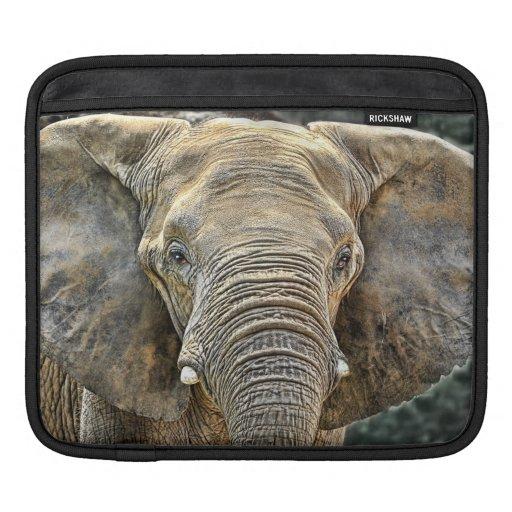 Elephant African All Ears Sleeve For iPads
