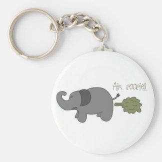 Elephant Air Poopie Keychain