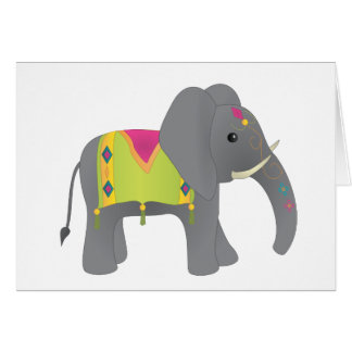 Elephant All Dressed Up Cards