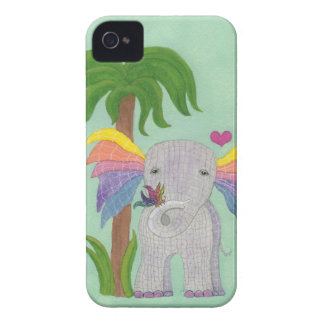 Elephant and Butterfly BFF Case-Mate iPhone 4 Case