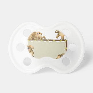 Elephant and frame BooginHead pacifier