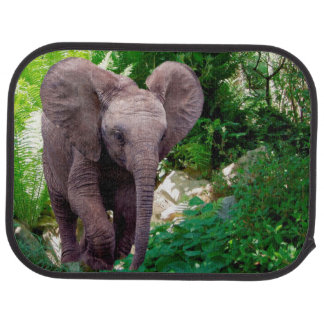 Elephant and Jungle Car Mat