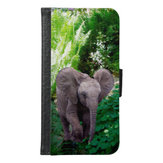 Elephant and Jungle Wallet Phone Case For Samsung Galaxy S6