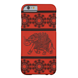 Elephant and Mandella Border Barely There iPhone 6 Case