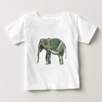 Elephant and monkey baby T-Shirt