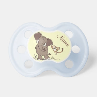 Elephant and Monkey BooginHead Pacifier