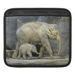 Elephant and Newborn Baby iPad Sleeve