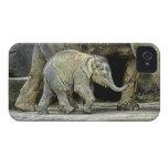 Elephant and Newborn Baby iPhone 4 Case