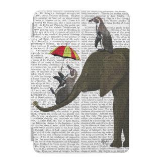 Elephant and Penguin iPad Mini Cover