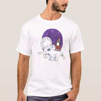 elephant and penguin T-Shirt